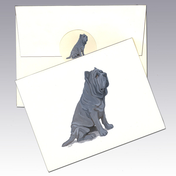 Neopolitan Mastiff Note Cards