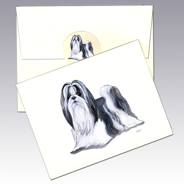 Shih Tzu Note Cards