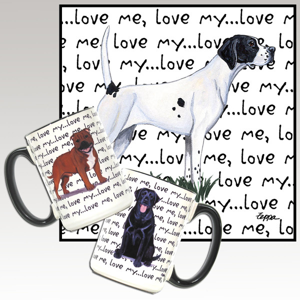 Pointer Love Me Mug