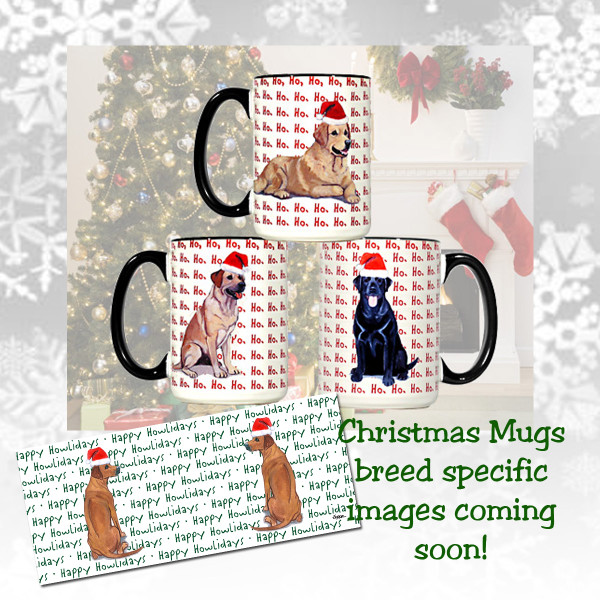 Doberman Christmas Mugs