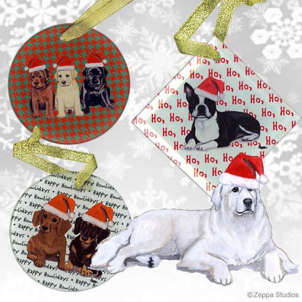 Great Pyrenees Christmas Ornament