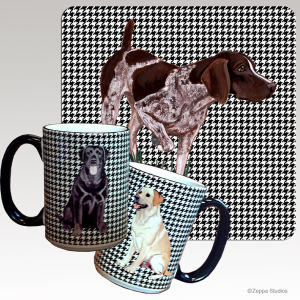 German Shorthair Pointer Houndzstooth Mug