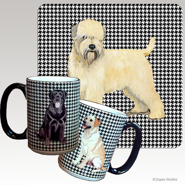 Wheaten Terrier Houndzstooth Mug