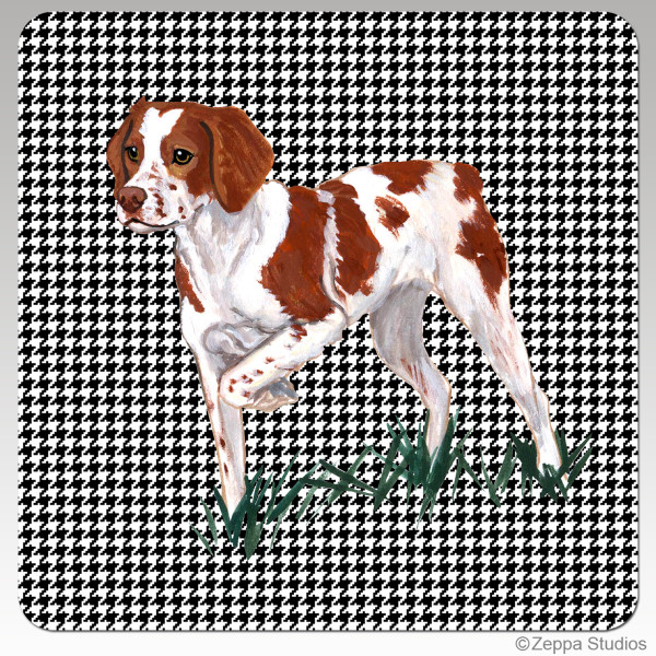 Brittany Houndzstooth Coasters