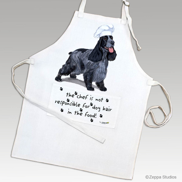 English Cocker Spaniel Apron