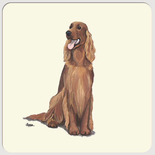 Irish Setter Beverage Coasters
