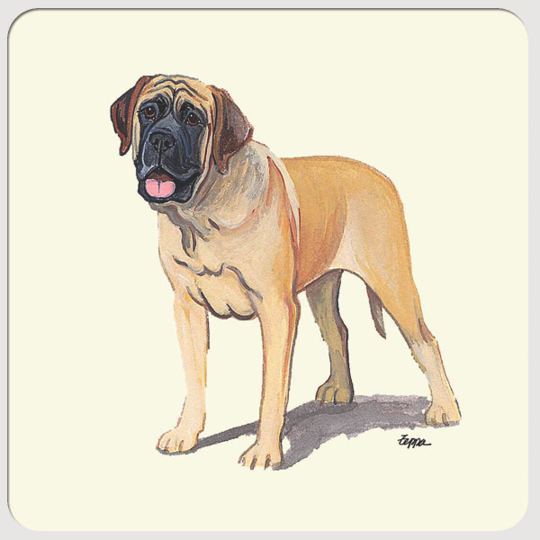 Mastiff Beverage Coasters