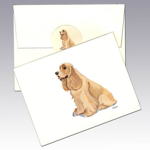 American Cocker Spaniel Note Cards