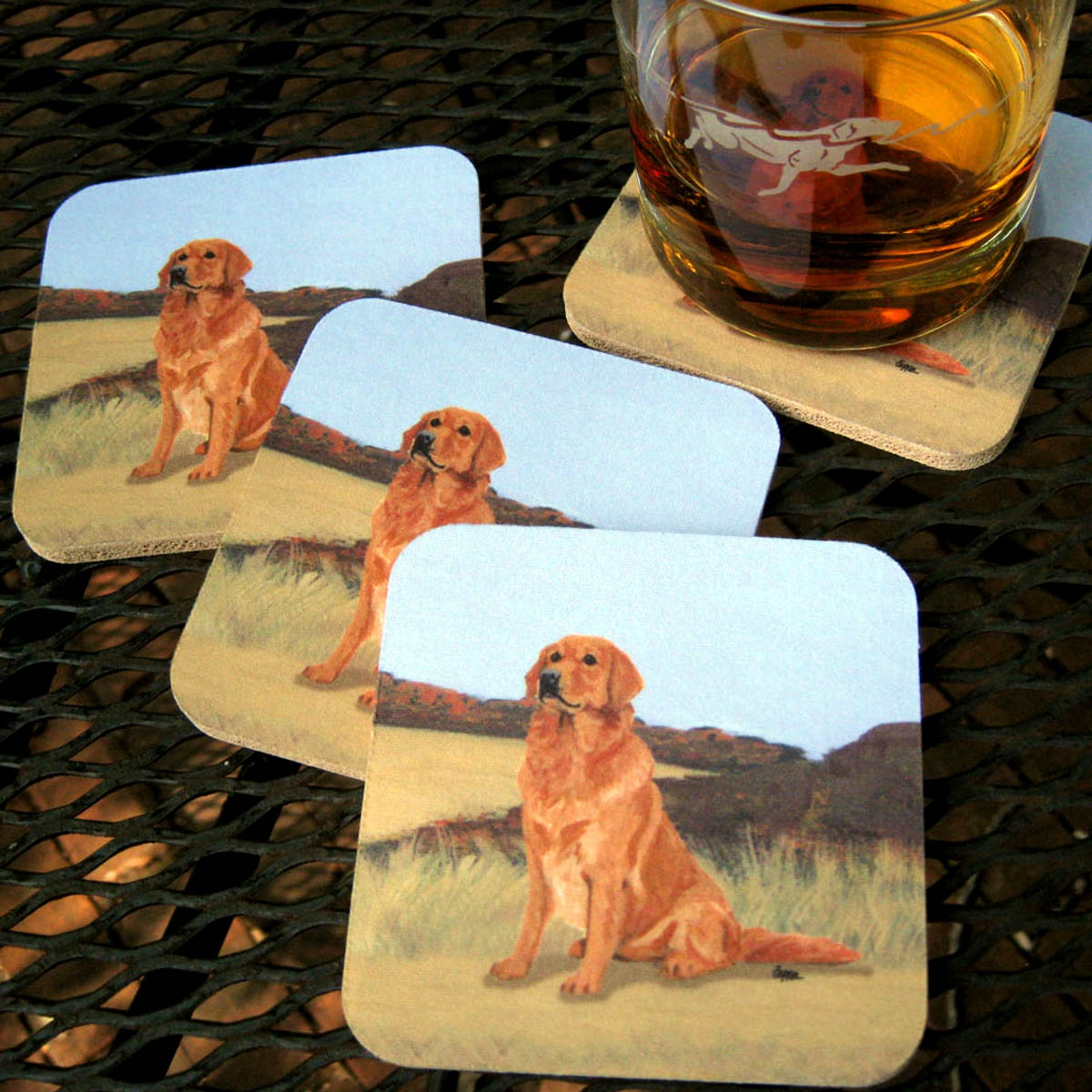 Scenic Background Coasters
