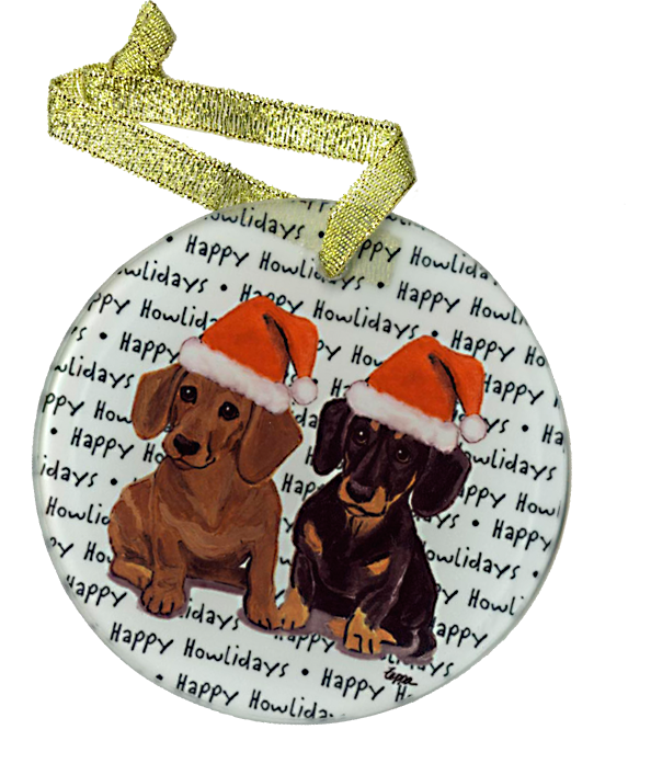 Howl-iday Ornaments