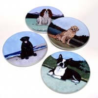 Bisque Coasters