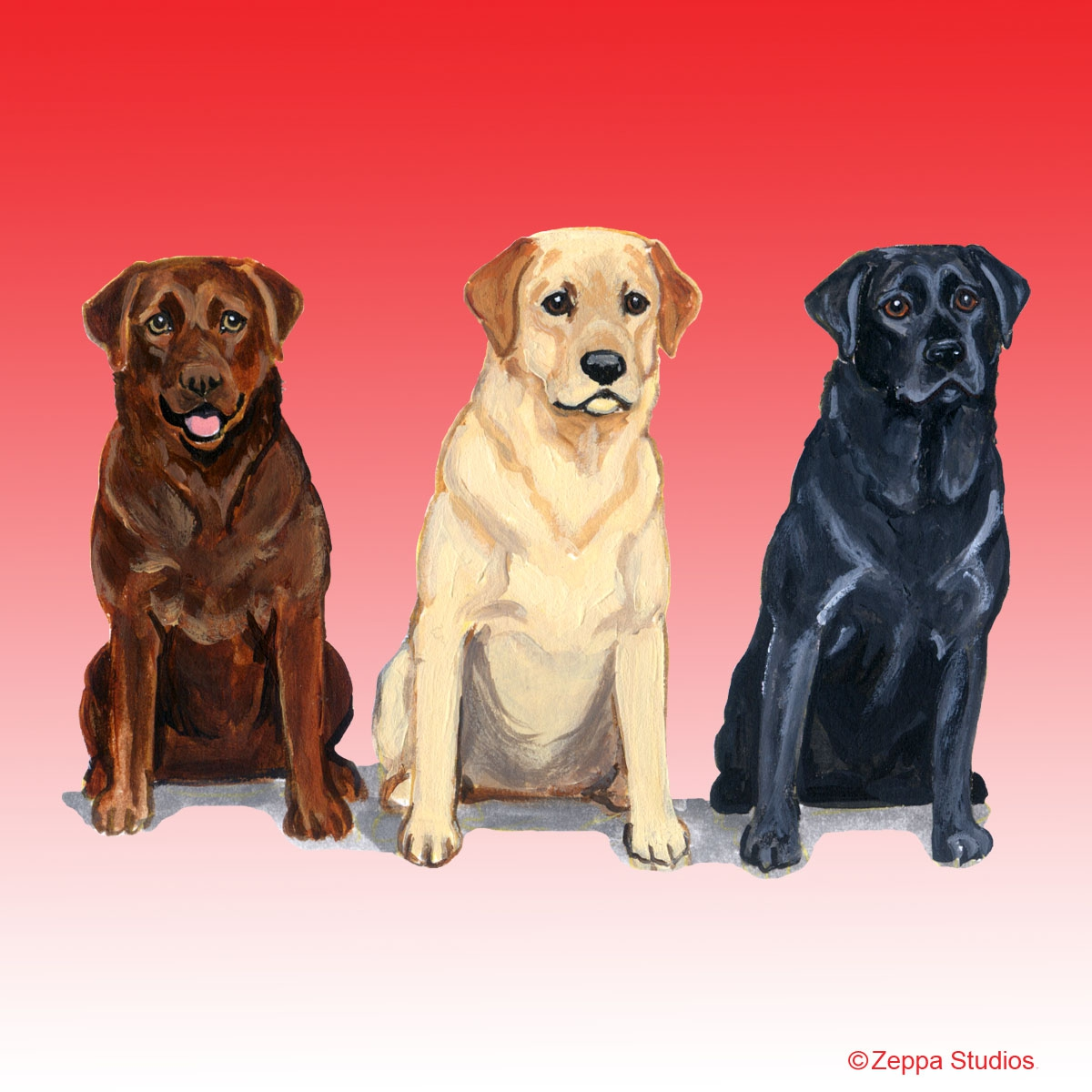 Labrador Retriever Trio Gifts