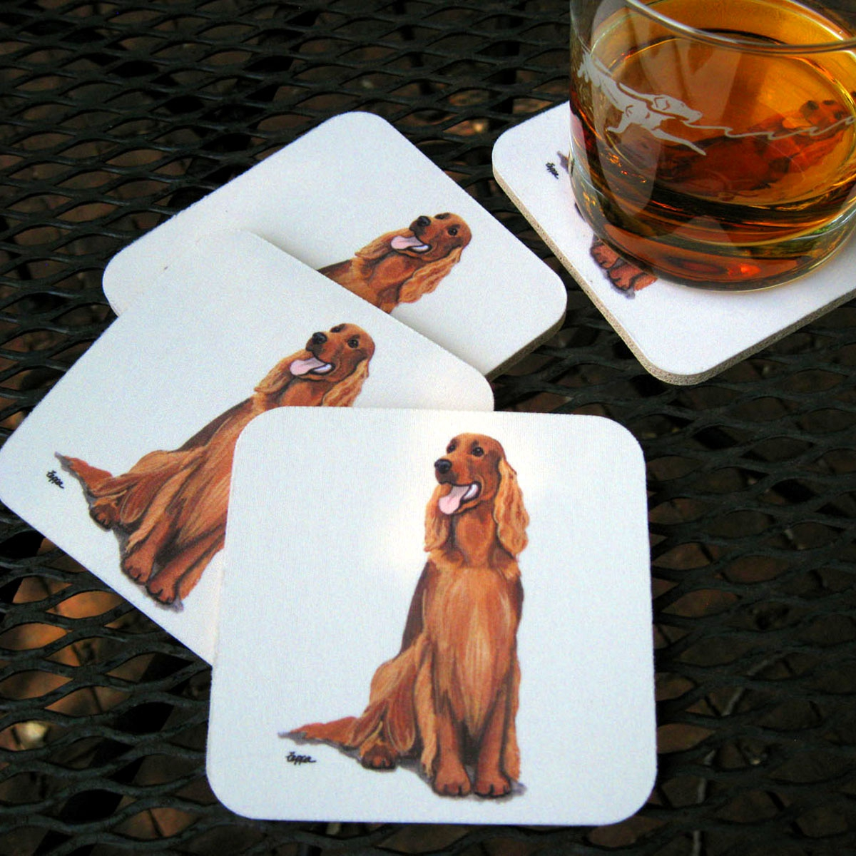 Plain Beverage Coasters