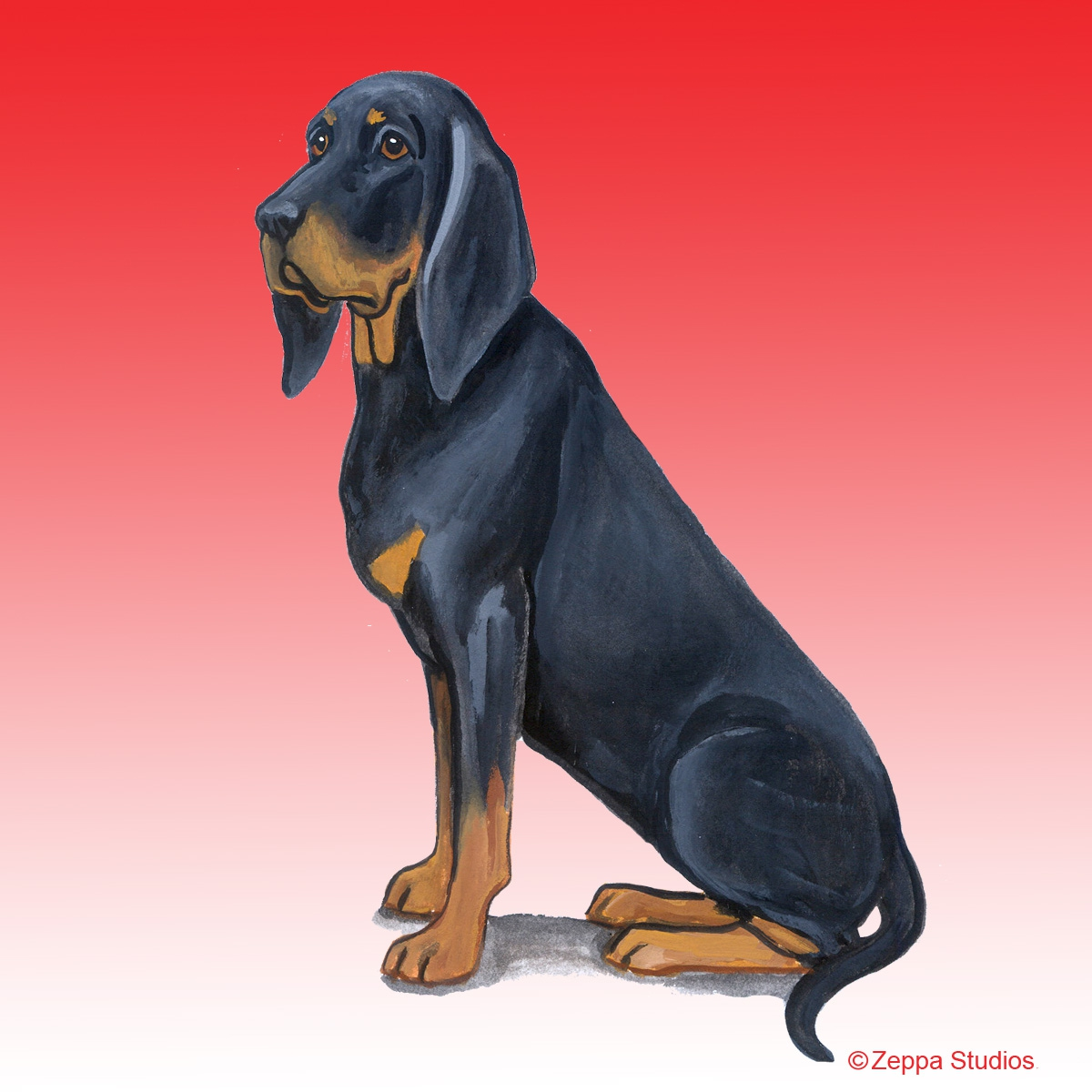 Black and Tan Coonhound Gifts