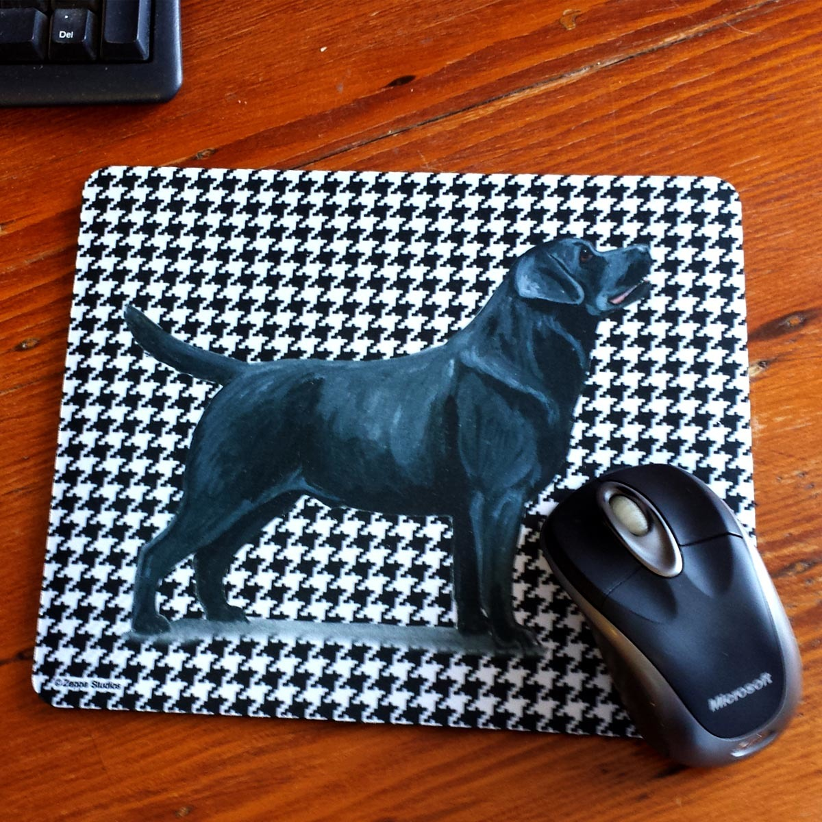 Houndstooth Mouse Pads