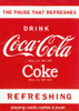 Coke: Refreshing - Playing Cards
