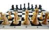 "100% Silicone Portable Tournament Chess Mat, 20"" x 20"", Blue"