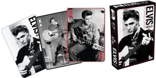 Elvis: Black & White - Playing Card Deck