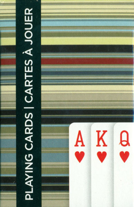 Art Stripes - Playing Cards