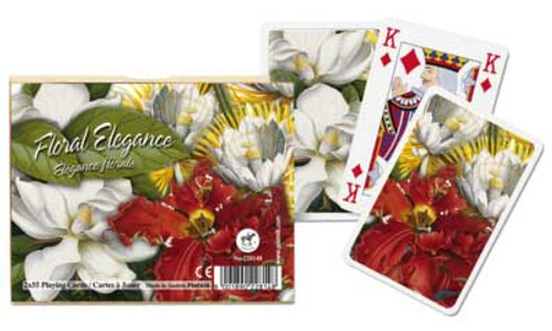 Floral Elegance - Double Deck Playing Cards