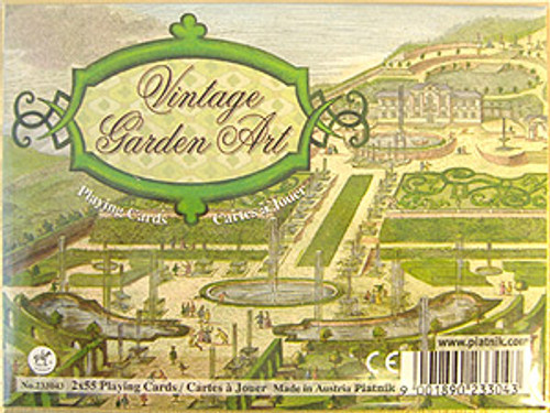 Vintage Gardens - Double Deck Playing Cards