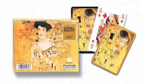 Klimt: Adele - Double Deck Playing Cards