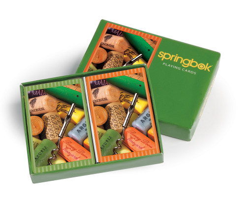 Cork Collection - Double Deck Playing Cards by Springbok