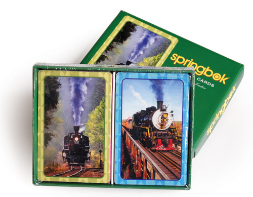 Iron Horse - Double Deck Standard Index Playing Cards by Springbok