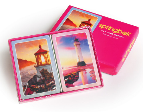 Morning Light - Double Deck Playing Cards by Springbok