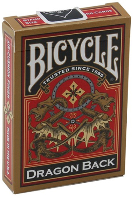 Bicycle: Dragon Back (Gold)