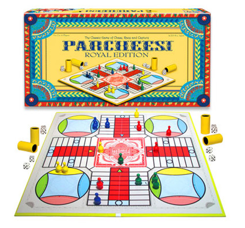 Parcheesi, Royal Edition - Classic Board Game