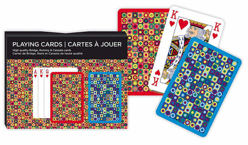 Dots - Double Deck Playing Cards by Piatnik