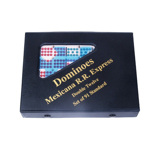 Mexicana R. R. Express - Double 12 Domino Set