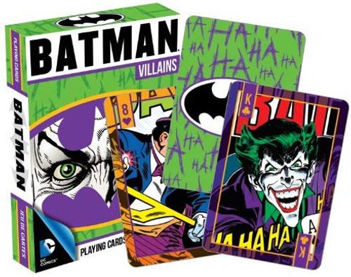 DC Comics - Batman Villains - Playing Card Deck