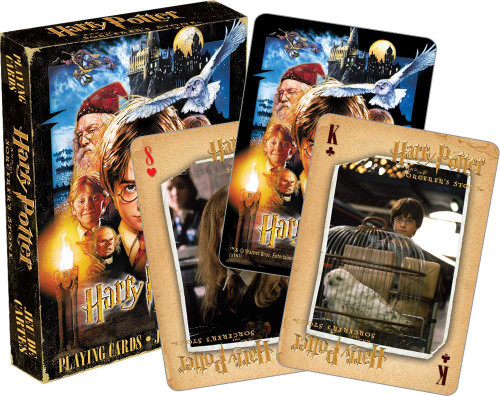 Harry Potter Sorcerer's Stone - Playing Card Deck