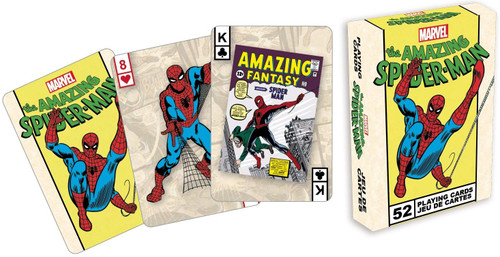 Marvel Comics Spider-Man - Playing Card Deck