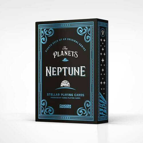 The Planets: Neptune - Playing Cards by Vanda