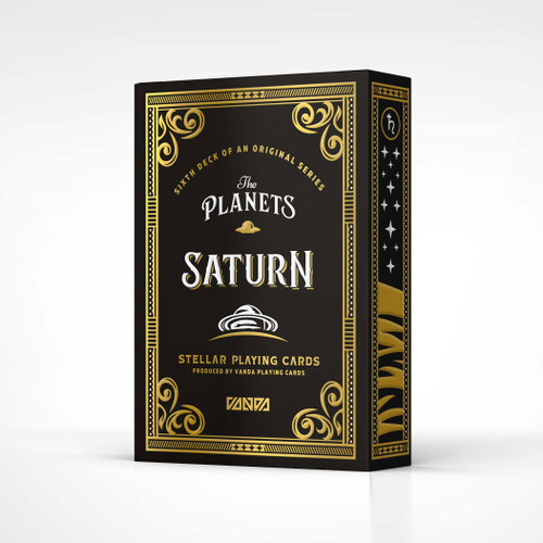 The Planets: Saturn - Playing Cards by Vanda