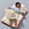 Ruby Mini Doll With House Suitcase, doll in bed