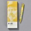 E+M Gold Marble Pencil with box