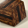 Hexagonal Rare Wood Pins, Two Tone Rare Wood