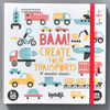 BAM! CREATE YOUR TRANSPORTS set, front