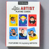 Little Artists Playing Cards, back of box