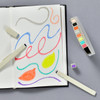 Pasta Drawing and Graphic Markers Set, example of use