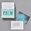 Calm Pocket Prompt Cards, cards and box