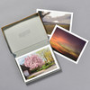 Calming Places Boxed Cards, open box with cards