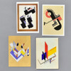 Bauhaus Notecard Set, cards