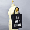 No One Is Normal Tote, on mannequin