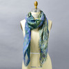 Monet Bend in the Epte River Scarf, on mannequin