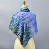 Monet Bend in the Epte River Scarf, on mannequin over shoulders, back